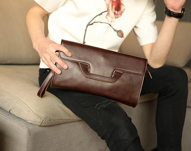 Original new pattern men clutch bag