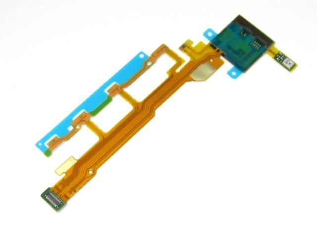 ORIGINAL On / Off Power Volume Ribbon Sony Xperia Z / L36h C6603 ~MIC