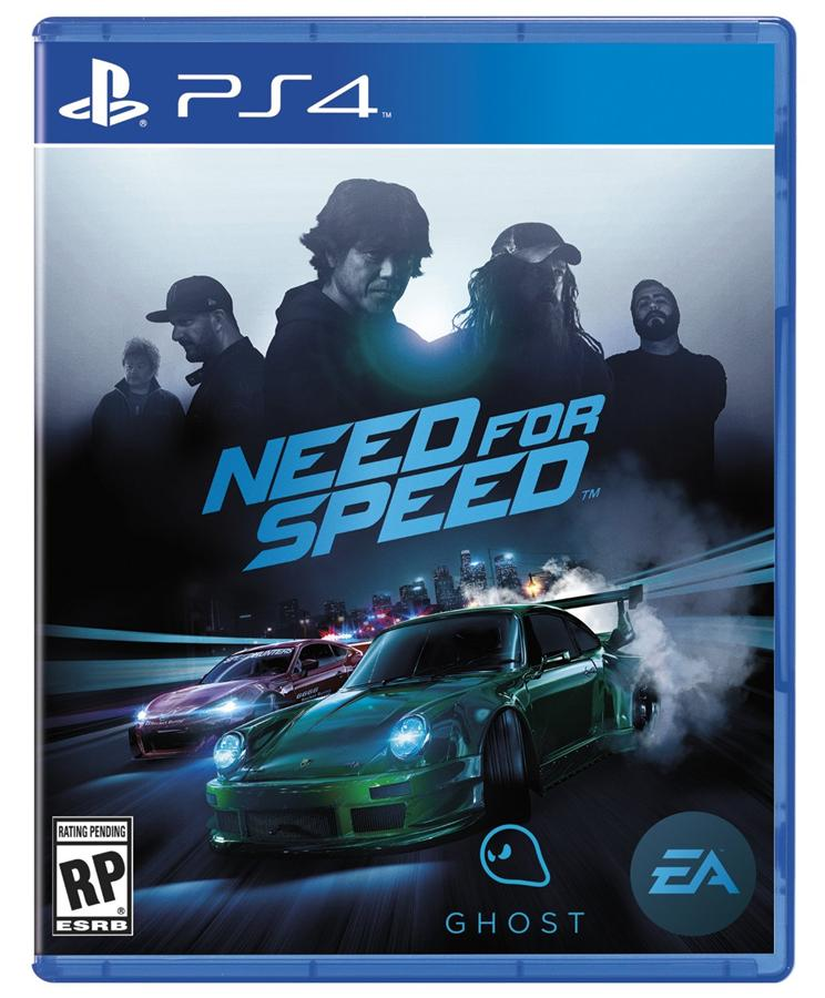 Original PS4 Need For Speed Ghost Edition