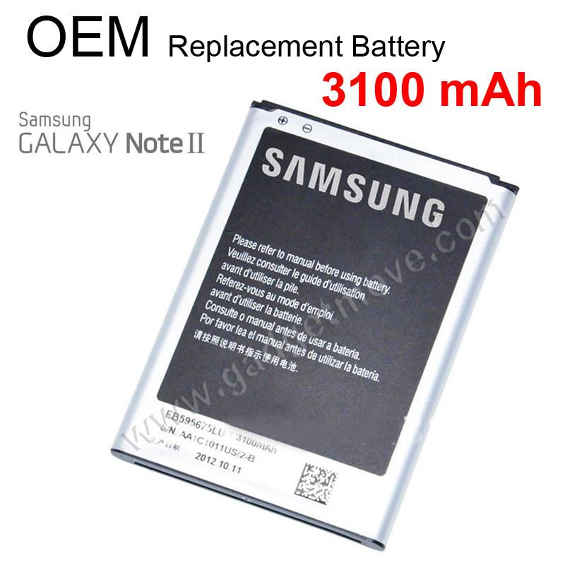 Original Quality 3100 mAh Battery Samsung Galaxy Note 2 N7100 Battery