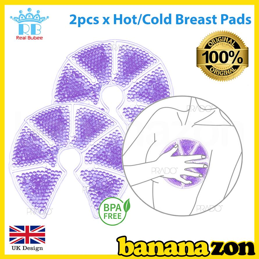 ORIGINAL Real Bubee 2pcs Hot Cold Therapy Heat Pad Breast Pump Aid
