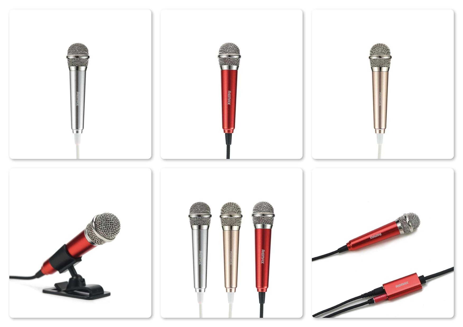 Original Remax RMK-K01 Singsong K Mini Microphone