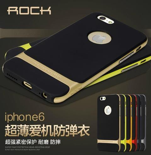 Original ROCK Apple Iphone 6 4.7 PLUS 5.5 Ultra Slim Case + Free Gift