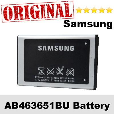 Original Samsung AB463651BU S7070 Diva B3410 Battery 1Year WARRANTY