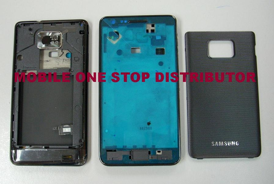 ORIGINAL Samsung Galaxy S2 i9100 Housing ( Black ) / Repair