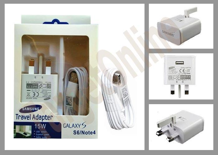 Original Samsung Galaxy S6 7 Edge Note 4 5 7 9V Fast Charger Adapter