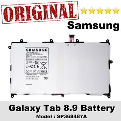 Original Samsung Galaxy Tab 8.9 Battery Model SP368487A 1Year Warranty