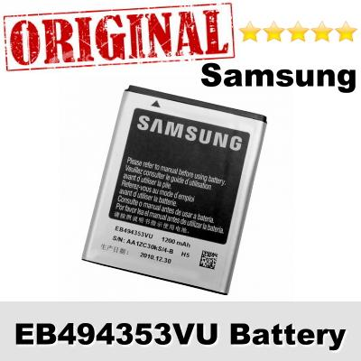 Original Samsung Wave 2 Pro GT-S5330 EB494353VU Battery 1Year WARRANTY
