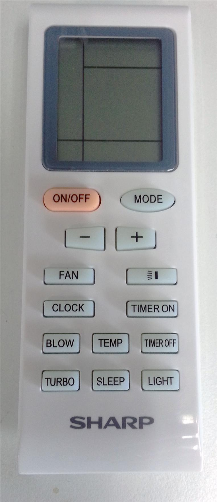 emailair air conditioner remote control manual
