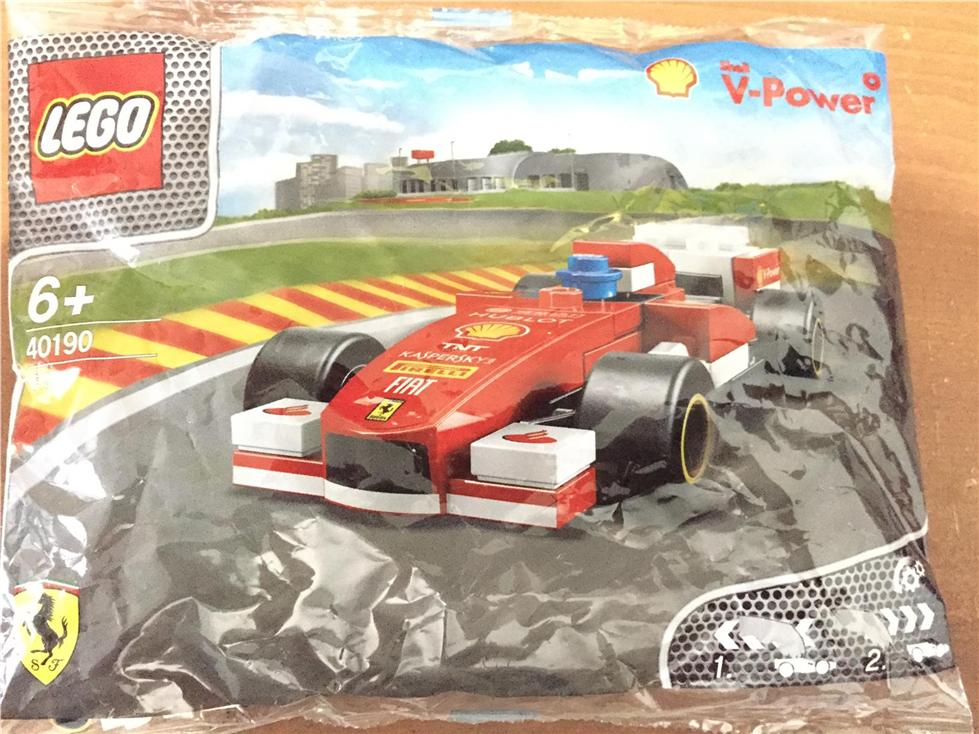 ORIGINAL Shell V-Power LEGO® Collection 2015 - FERARI F138 -  For Kids