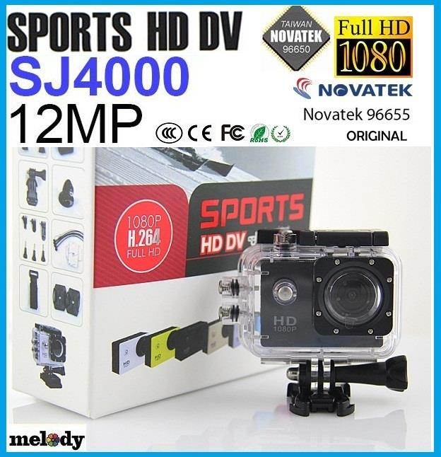 Original SJ4000 SPORTS HD DV 1080P Full HD H.264 12MP  Action Cam