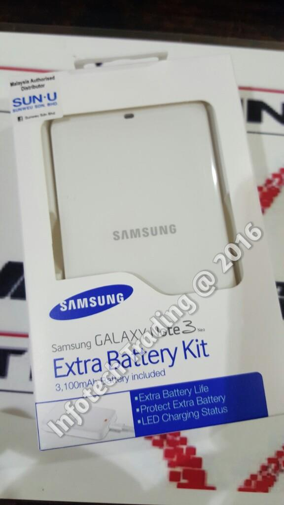 ORIGINAL SME SAMSUNG GALAXY NOTE 3 NEO EXTRA BATTERY PACK