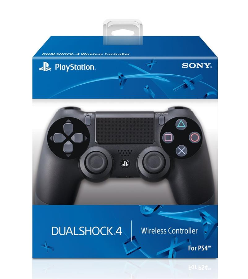 (ORIGINAL) SONY PS4 DUAL SHOCK 4 JET BLACK