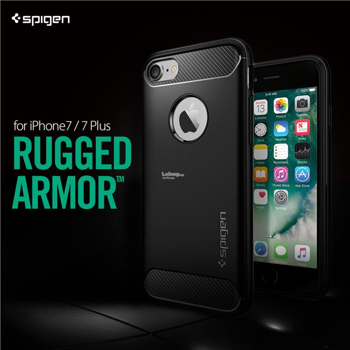 [Original] SPIGEN Rugged Armor for iPhone 7 / iPhone 7 Plus