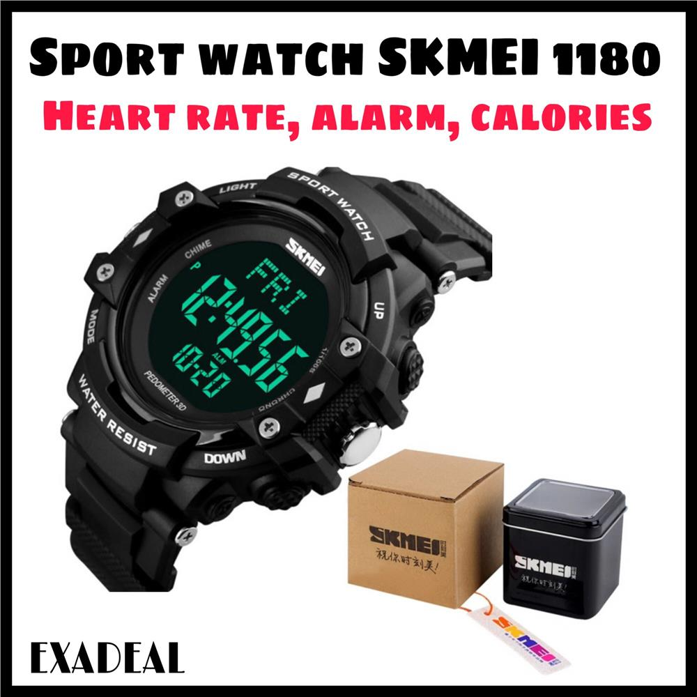 Original Sport Watch Heart Rate Pedometer Watch Exercise Watch SKMEI