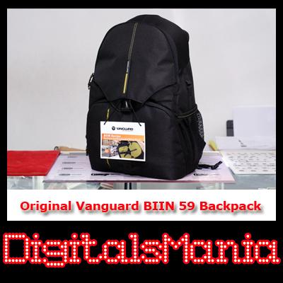 Original Vanguard BIIN 59 DSLR Backpack - Canon Nikon Sony Pentax
