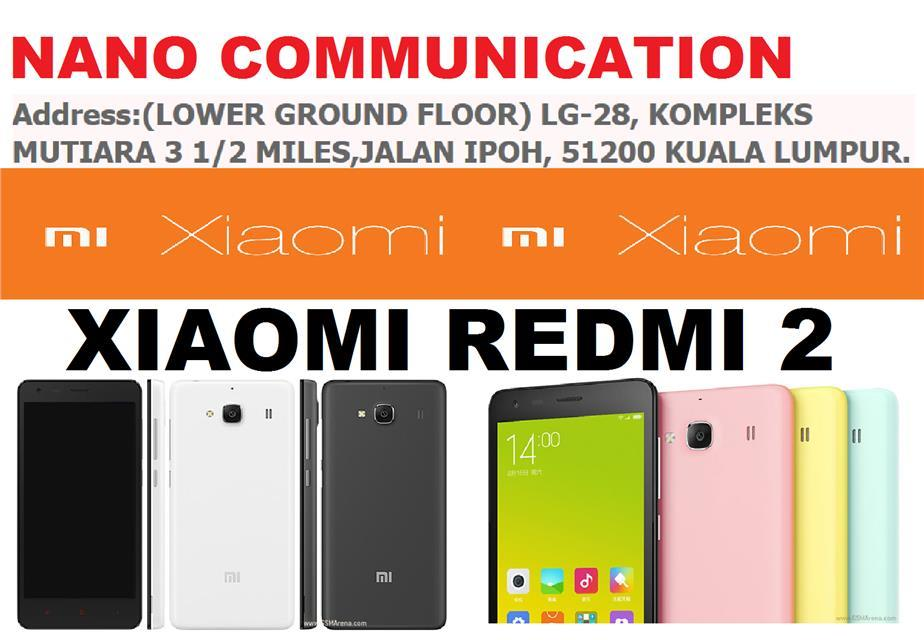 (ORIGINAL) XIAOMI MALAYSIA WARRANTY Xiaomi Redmi 2 Enhanced Dual LTE
