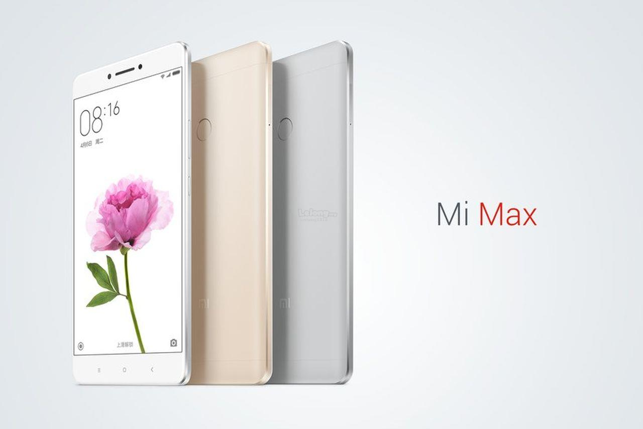 "(ORIGINAL) Xiaomi Mi Max 6.4"" 16MP 3+32GB Dual LTE"