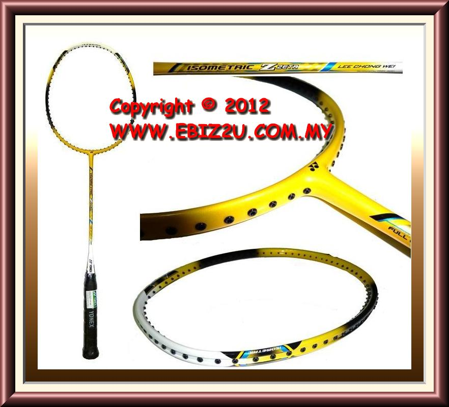 Original Yonex Isometric Zeta Lee Chong Wei Model Badminton Racket +Fr