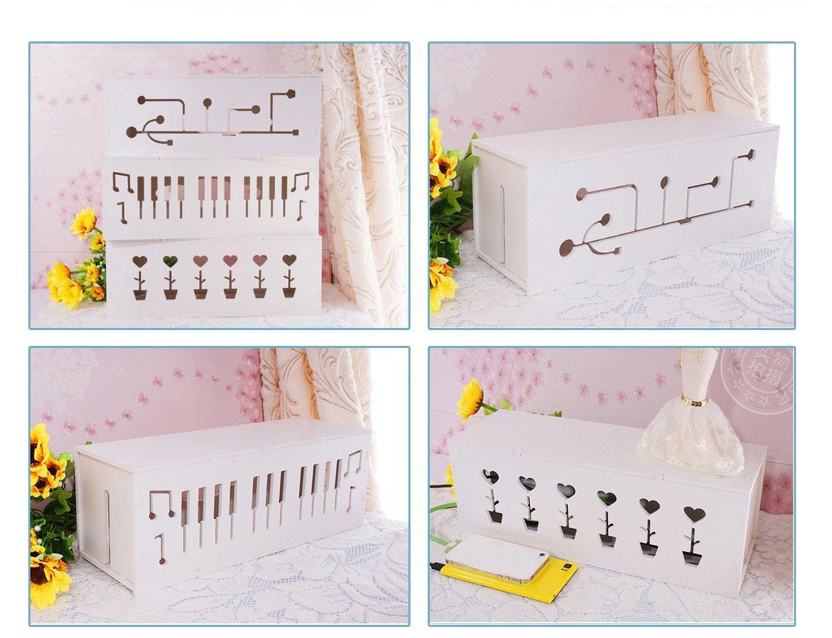 Originality Safety Cable Box Organizer