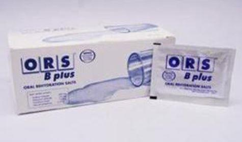 ORS B PLUS ORAL REHYDRATION SALTS 50´S