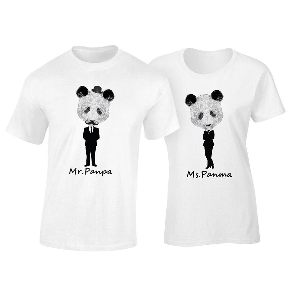 OS502C OSUMMER Mr.Panpa & Ma Couple T-Shirt