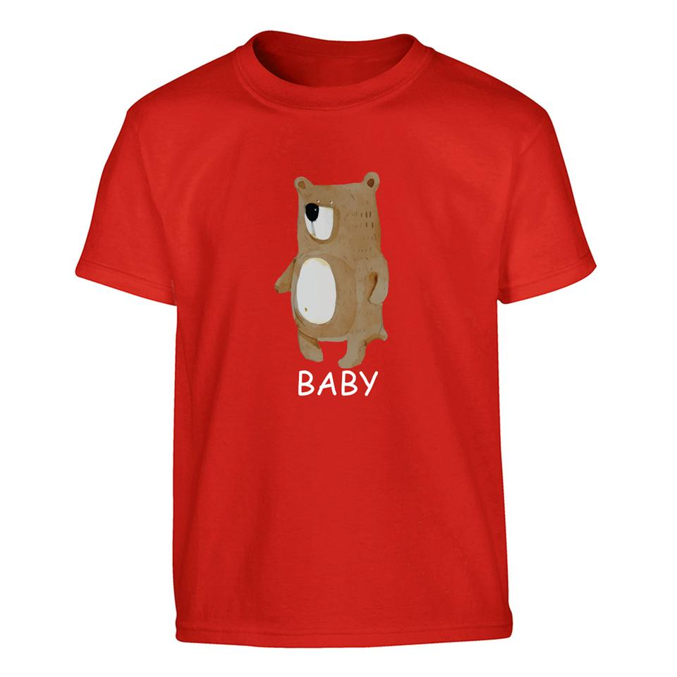 OS503K OSUMMER Cute Bear Kids T-shirt