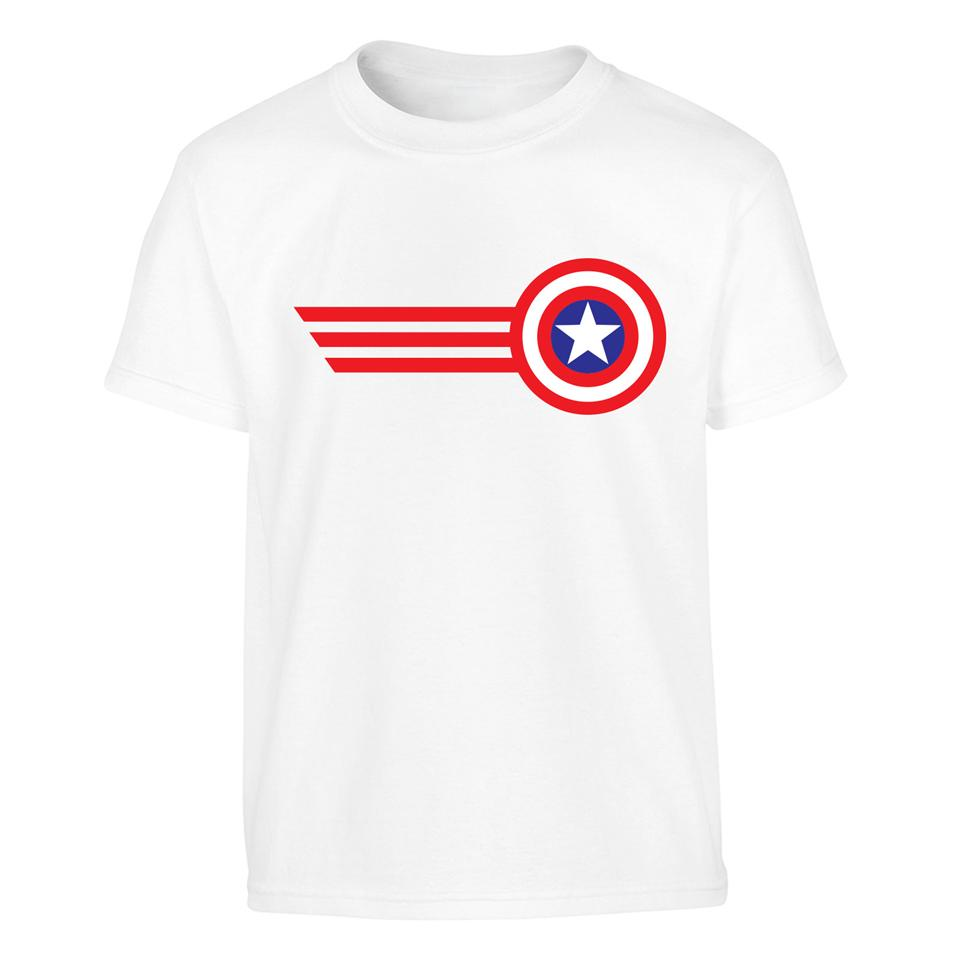 OS520K Shield Hero Captain America 2 Kids T-shirt
