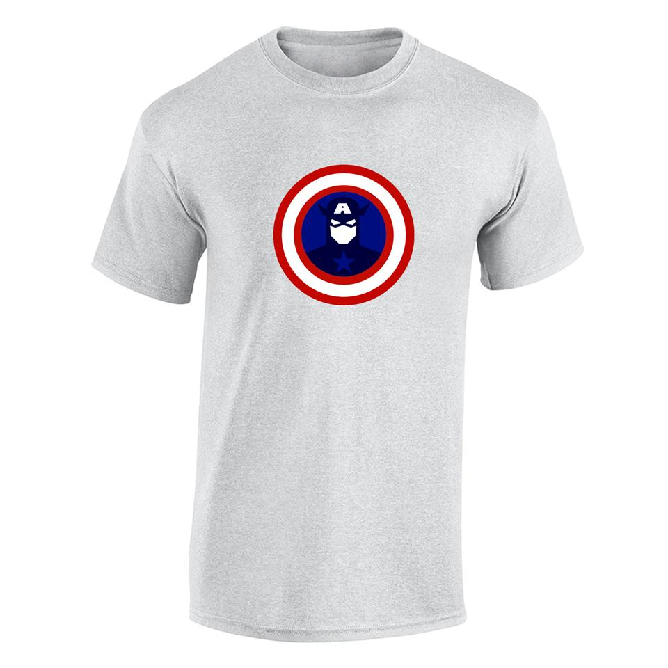 OS528M Captain America 4 Men T-shirt