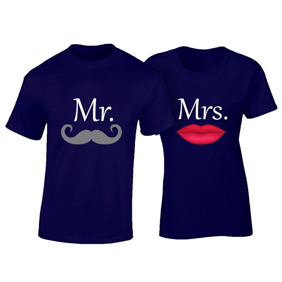OS530C OSUMMER Mr & Mrs Couple T-shirt