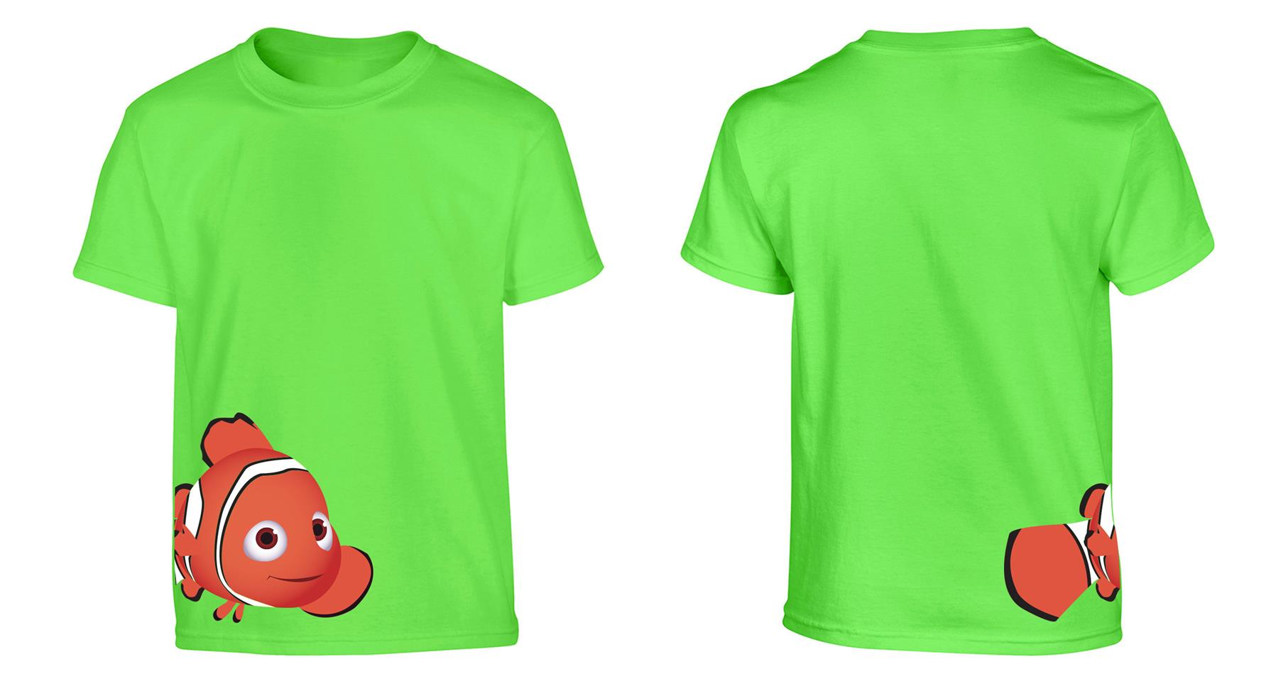 OS547K Finding Dory Kids T-shirt