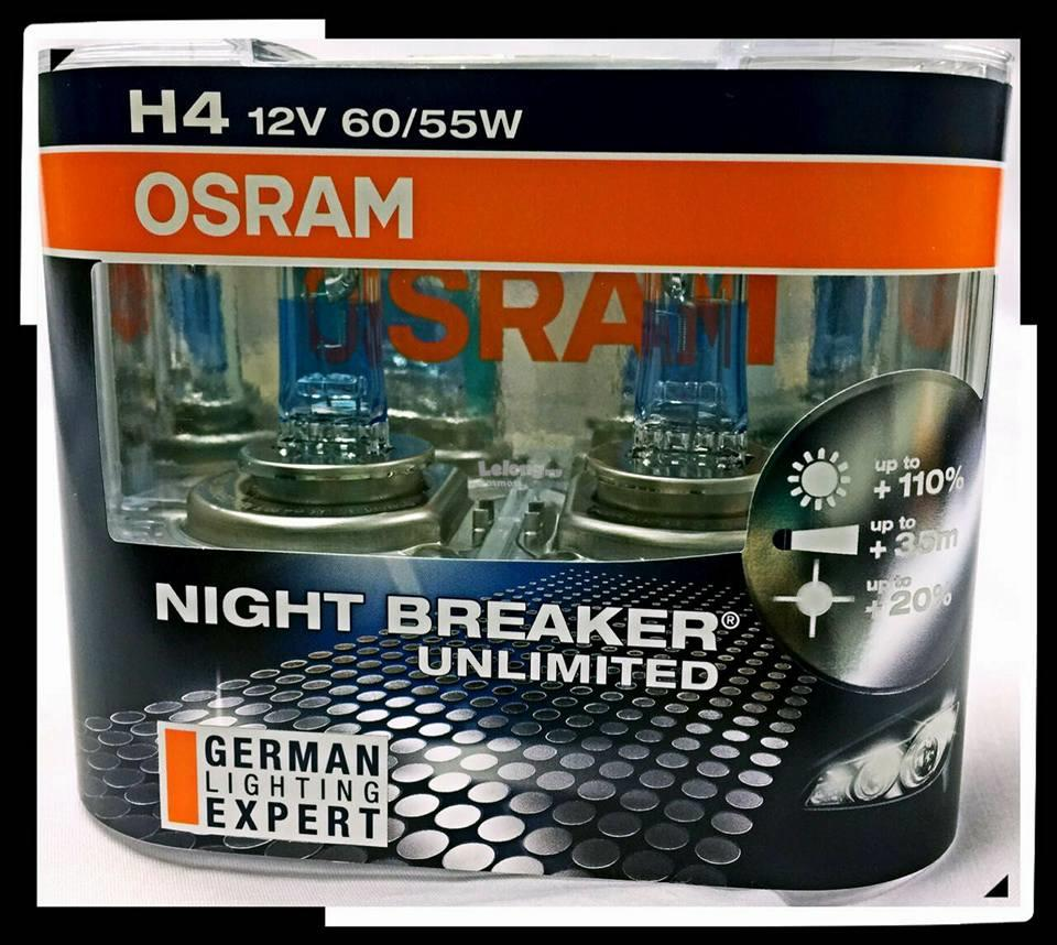 osram h4 12v 55w night brea end 11 16 2017 12 15 pm myt. Black Bedroom Furniture Sets. Home Design Ideas