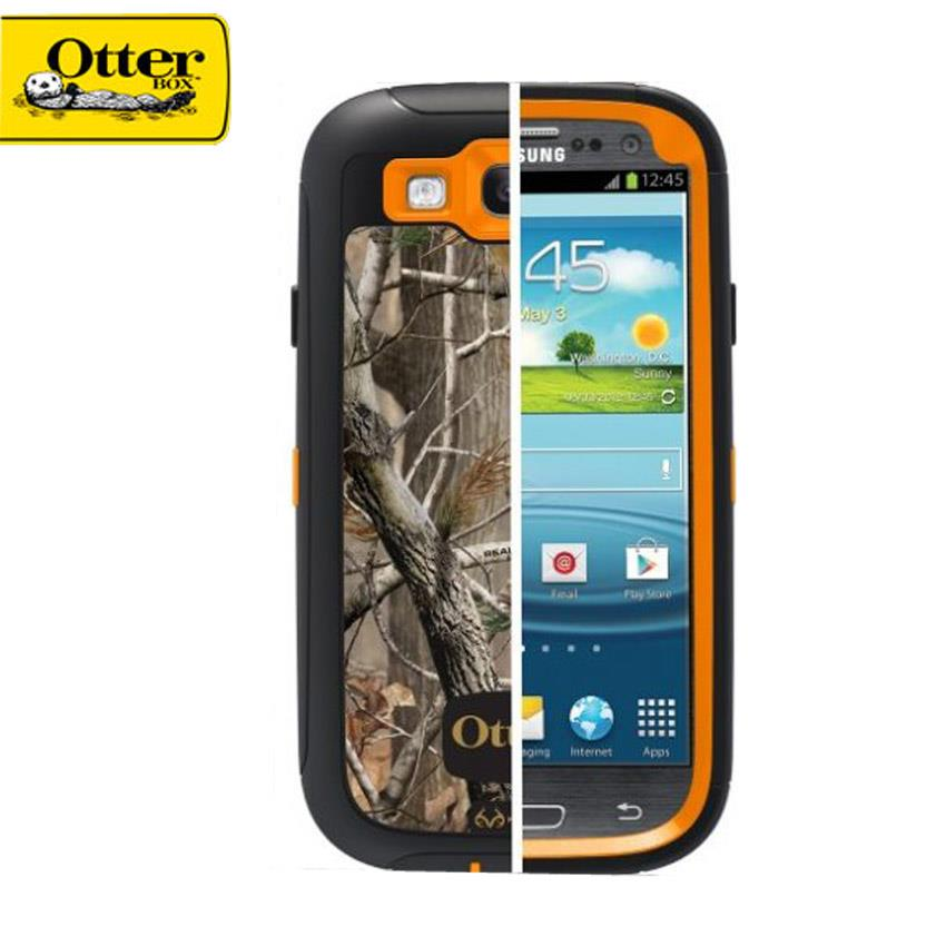 Otter Box Defender Series Protective Case IPhone (Wood Oren)