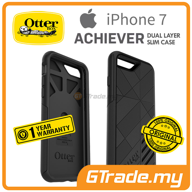OTTERBOX ACHIEVER Slim Tough Case | Apple iPhone 7 - Black
