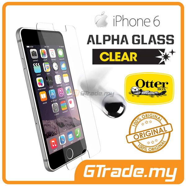 OTTERBOX Alpha Glass Screen Protector | Apple iPhone 6S 6 Clear