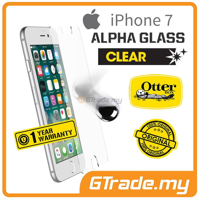 OTTERBOX Alpha Glass Screen Protector | Apple iPhone 7 Clear