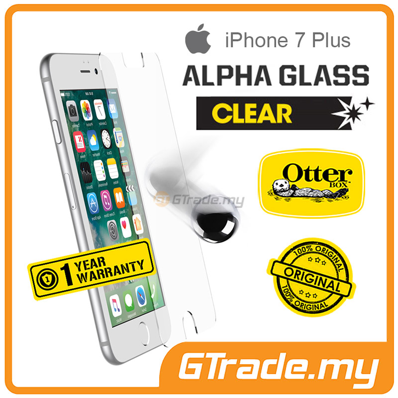 OTTERBOX Alpha Glass Screen Protector | Apple iPhone 7 Plus Clear