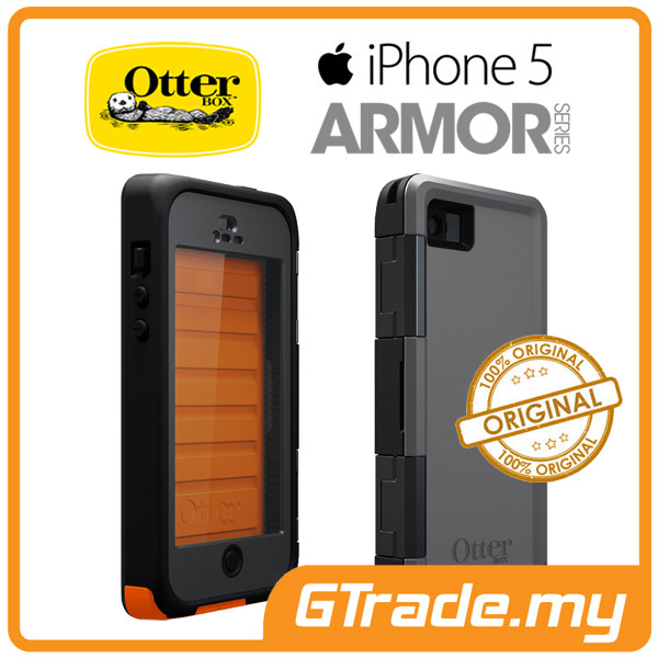 OTTERBOX Armor WaterProof Case | Apple iPhone 5 - Electric Orange