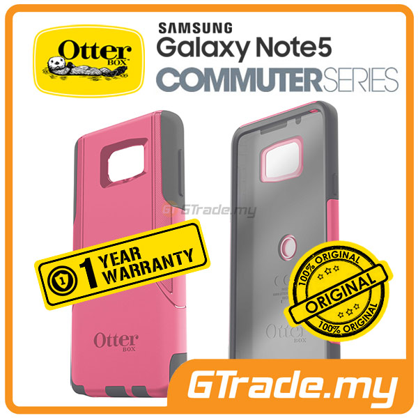 OTTERBOX Commuter Case FOC Protector | Samsung Galaxy Note 5 - Pink