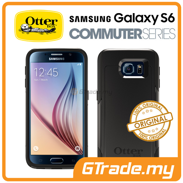 OTTERBOX Commuter Case FOC Protector | Samsung Galaxy S6 Black
