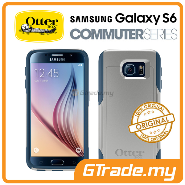 OTTERBOX Commuter Case FOC Protector | Samsung Galaxy S6 Casual Blue