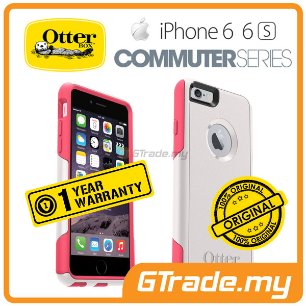 OTTERBOX Commuter Case *FOC S.Protector | Apple iPhone 6S 6 - Rose