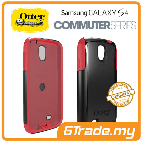OTTERBOX Commuter Case *FOC S.Protector | Samsung Galaxy S4- Raspberry