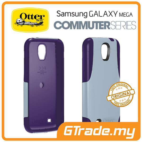 OTTERBOX Commuter Case + S.Protector |Samsung Galaxy Mega 6.3 Lavander