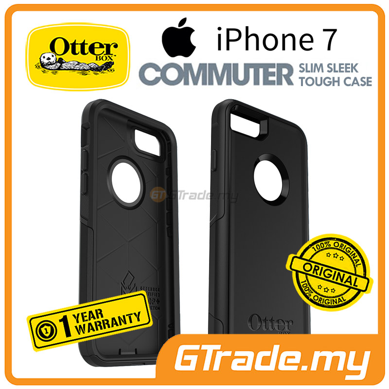OTTERBOX Commuter Case Slim Mighty | Apple iPhone 7 - Black