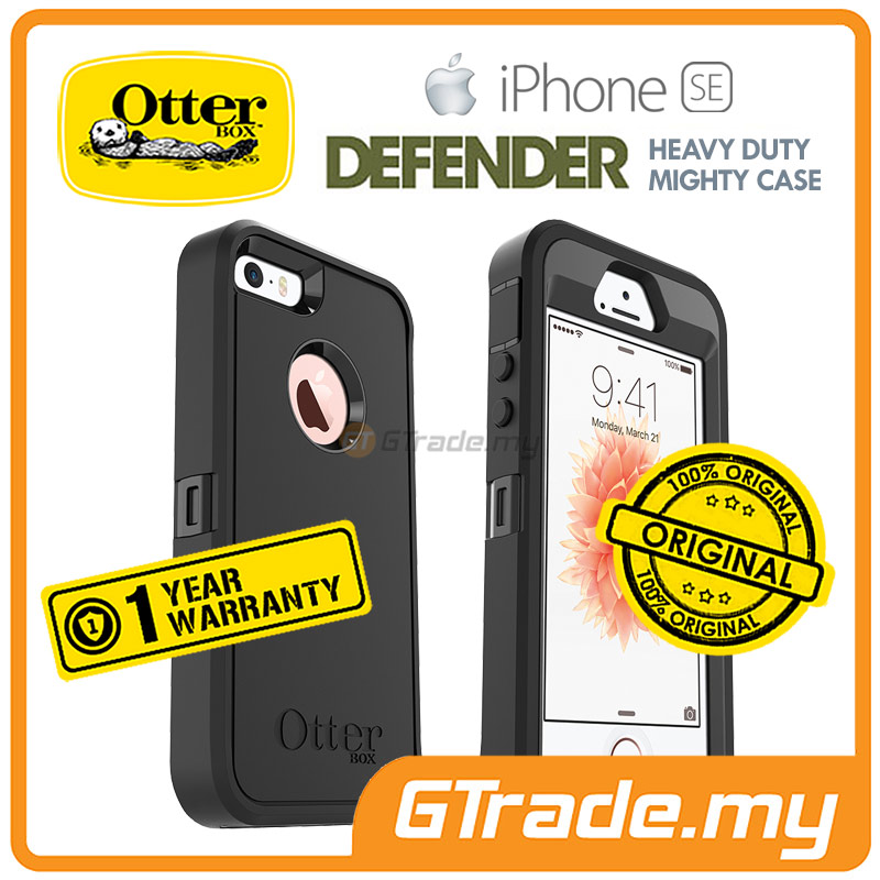 OTTERBOX Defender Case+Belt Holster | Apple iPhone SE 5S S Black