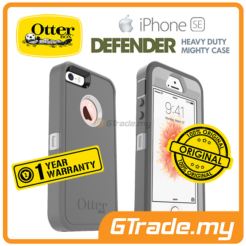 OTTERBOX Defender Case+Belt Holster | Apple iPhone SE 5S S Glacier