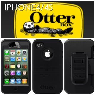 OtterBox Defender Case iPhone 4S 4 Black / Black (Selangor, end time 3