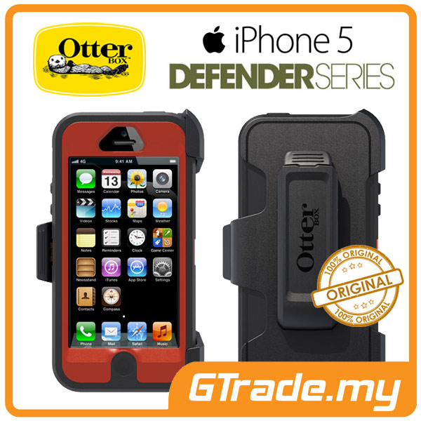 OTTERBOX Defender Case + Klip Holster | Apple iPhone 5 - Bolt