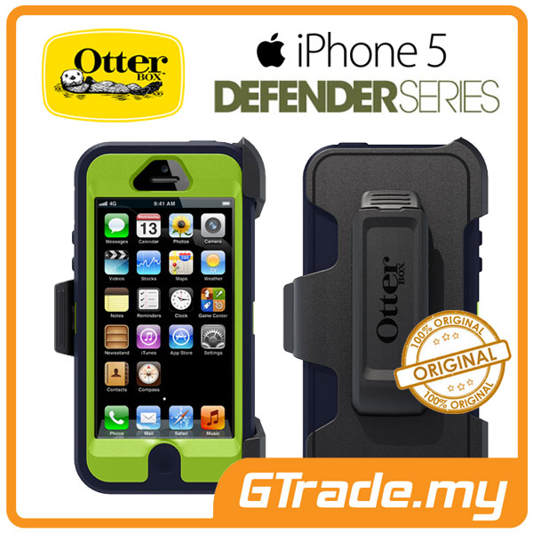 OTTERBOX Defender Case + Klip Holster | Apple iPhone 5 - Punked
